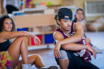 rehearsals for In the Heights