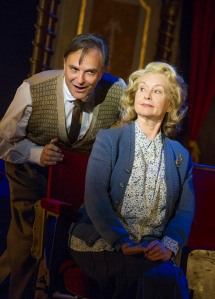 Brian Capron (Mr Quill) and Liza Goddard (Mrs Fazackalee)