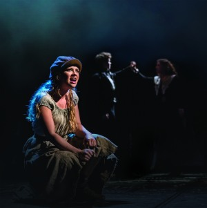 Les Miserable, Queens Theatre, London, UK, 2014, Credit: Johan Persson/www.perssonphotography.com