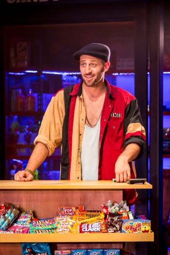 Sam Mackay as Usnavi in In The Heights. Photo Credit Johan Persson copy