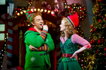 'Elf, The Musical' Performed at the Dominion Theatre, London UK