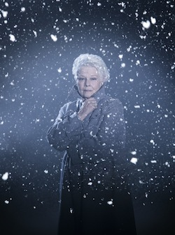 KENNETH BRANAGH THEATRE COMPANY. The Winter's Tale (Judi Dench). Credit Johan Persson
