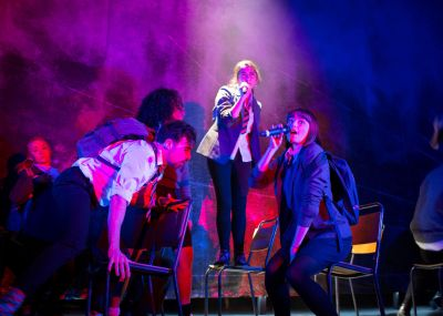 The cast of National Youth Theatre 2015 REP Season in Consensual Credit Helen Maybanks 4.jpg