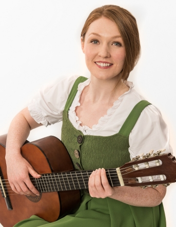 22 The Sound of Music UK Tour - Lucy O'Byrne as Maria - credit Mark Yeoman