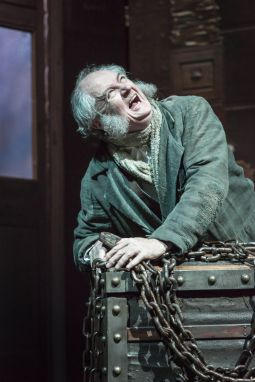 Jim Broadbent as Scrooge in A Christmas Carol. Credit Johan Persson.jpg