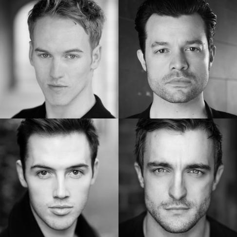 2016 Four Seasons clockwise from top left Matt Corner, Simon Bailey, Matt Hunt, Declan Egan