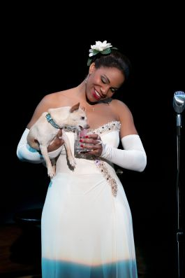 Audra McDonald and Roxie in Lady Day at Emerson's Bar & Grill. Photo credit Evgenia Eliseeva 2.jpg