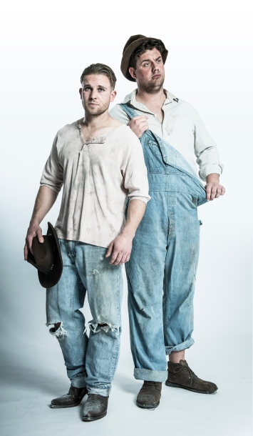 Of Mice and Men - William Rodell as 'George' & Kristian Phillips as 'Lennie' - cShaun Webb