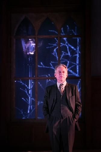 Stephen Boxer as C.S. Lewis in Shadowlands. Credit Jack Ladenburg