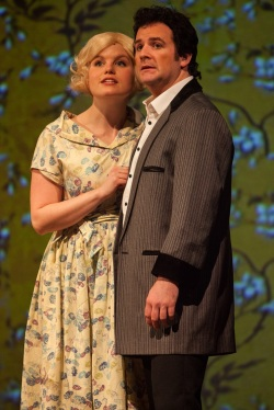 TOM. A Story of Tom Jones. The Musical. Elin Phillips 'Linda' and Kit Orton 'Tom'. Photo by Simon Gough (2)