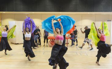 Disney's Aladdin in rehearsals Credit Johan Persson