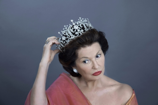 Stephanie Beacham (1) as HRH The Princess Margaret, Countess of Snowdon in A Princess Undone Photo credit Gareth McLeod